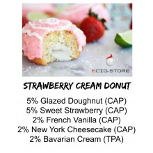 Strawberry Cream Donut