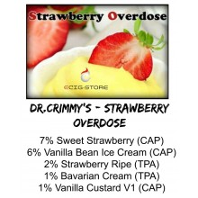 Dr. Crimmy's - Strawberry...